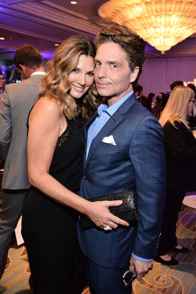 Daisy Fuentes and Richard Marx attend the The Paley Center for Media's Hollywood Tribute to Hispanic Achievements in Television at the Beverly Wilshire Four Seasons Hotel on October 24, 2016 in Beverly Hills, California. (Photo by Araya Diaz/Getty Images for The Paley Center for Media)