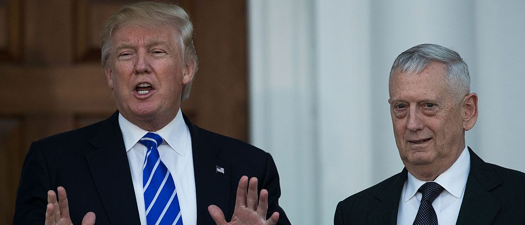 Donald Trump, James Mattis (Getty Images)