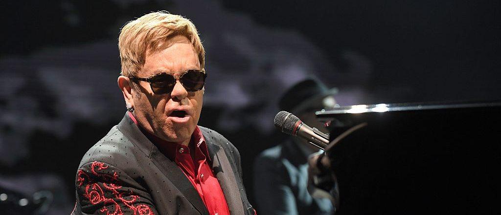 British musician Elton John performs on stage in Vienna, Austria on November 24, 2016. (Photo credit: ROLAND SCHLAGER/AFP/Getty Images)