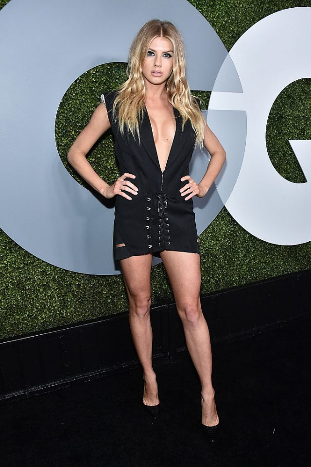 Model Charlotte McKinney attends the 2016 GQ Men of the Year Party at Chateau Marmont on December 8, 2016 in Los Angeles. (Photo by Mike Windle/Getty Images for GQ)
