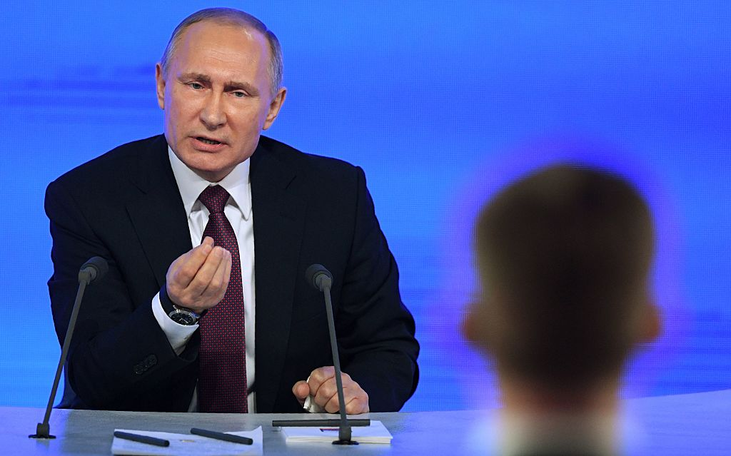 Vladimir Putin (Getty Images)