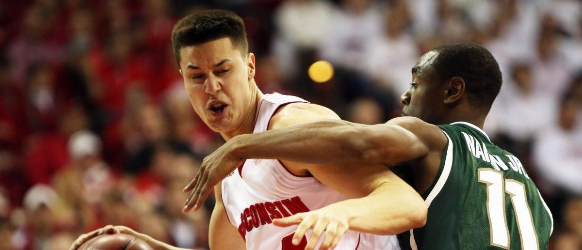 NCAA Basketball: Michigan State at Wisconsin