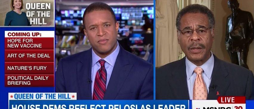 Craig Melvin, Emanuel Cleaver (MSNBC)