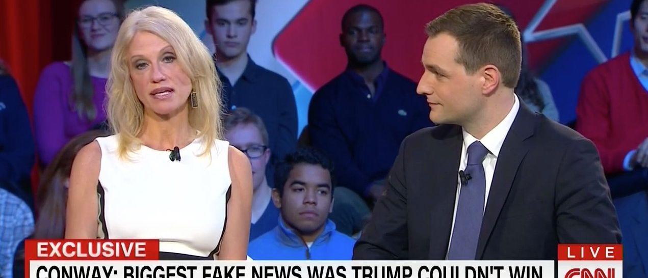 Kellyanne Conway, Robby Mook (CNN)