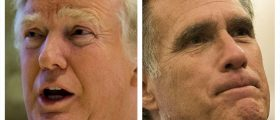 Donald Trump, Mitt Romney (Getty Images)