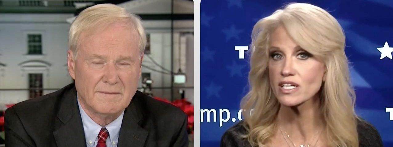 Chris Matthews, Kellyanne Conway (MSNBC)