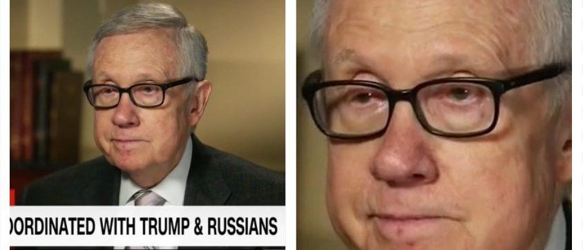 Harry Reid's new glasses (CNN)