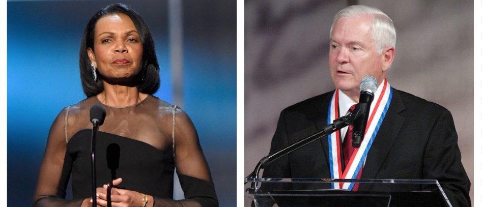 Condoleeza Rice, Robert Gates (Getty Images)