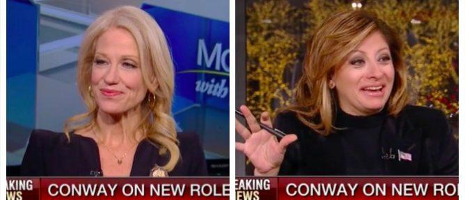 Kellyanne Conway, Maria Bartiromo (Fox Business)