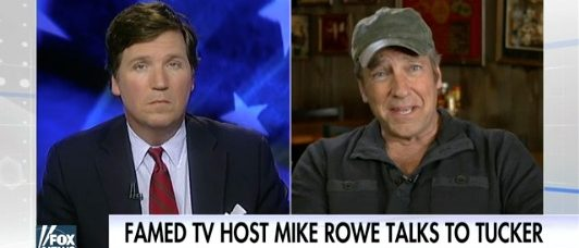 Tucker Carlson, Mike Rowe (Fox News)