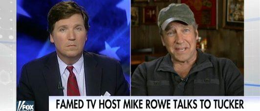 Tucker Carlson, Mike Rowe (Fox News)