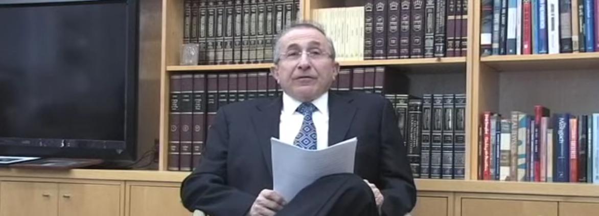 Wiesenthal Center's Rabbi Marvin Hier (Simon Wiesenthal Center You Tube)