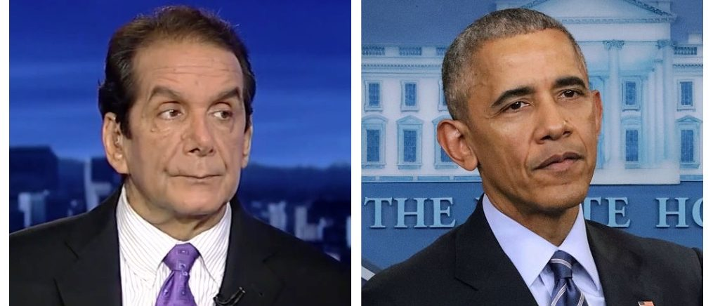 Charles Krauthammer, Barack Obama (Fox News, Getty Images)