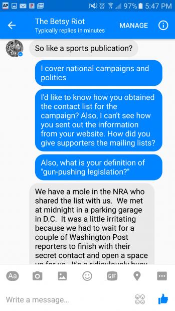Facebook Conversation 3 Phillip Stucky