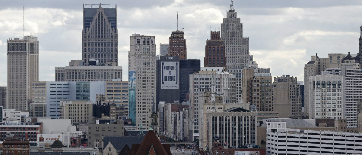 Midtown Detroit, Mich.: REUTERS/Rebecca Cook
