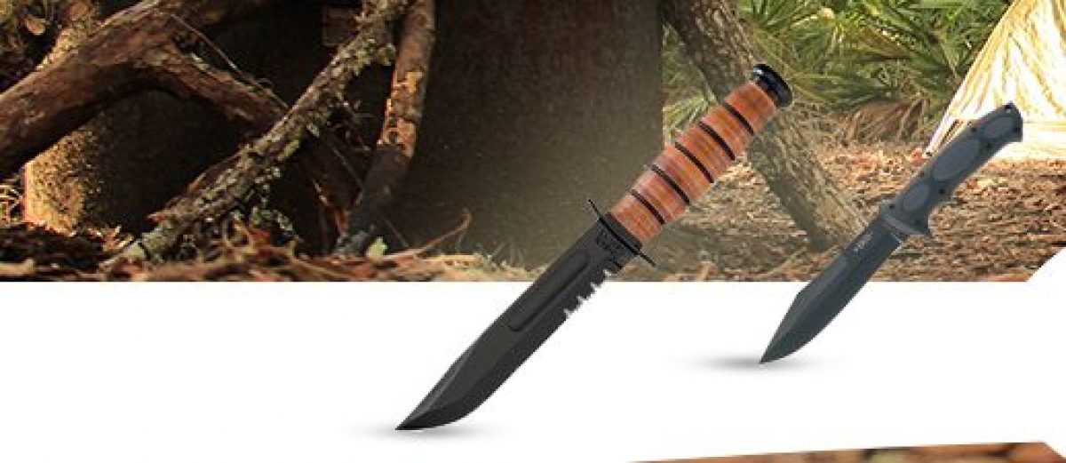 Ka-Bar is just one of the knife brands featured on Twelve Mile Board (Photo via Twelve Mile Board)