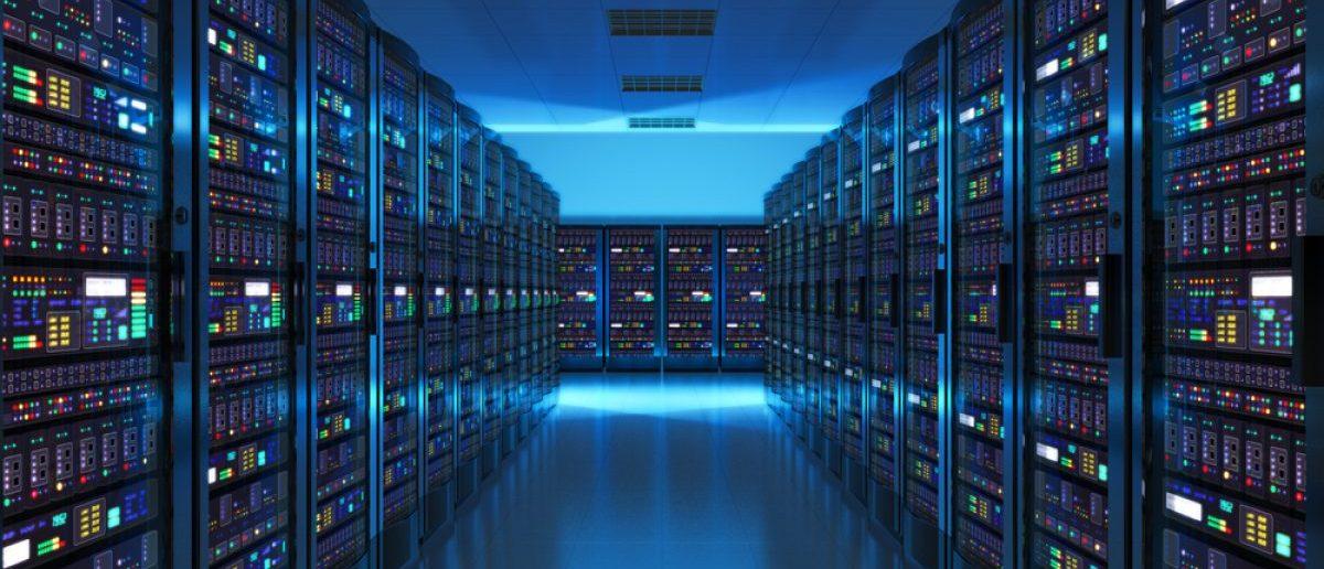 Modern web network and internet telecommunication technology. [Shutterstock - Scanrail1]