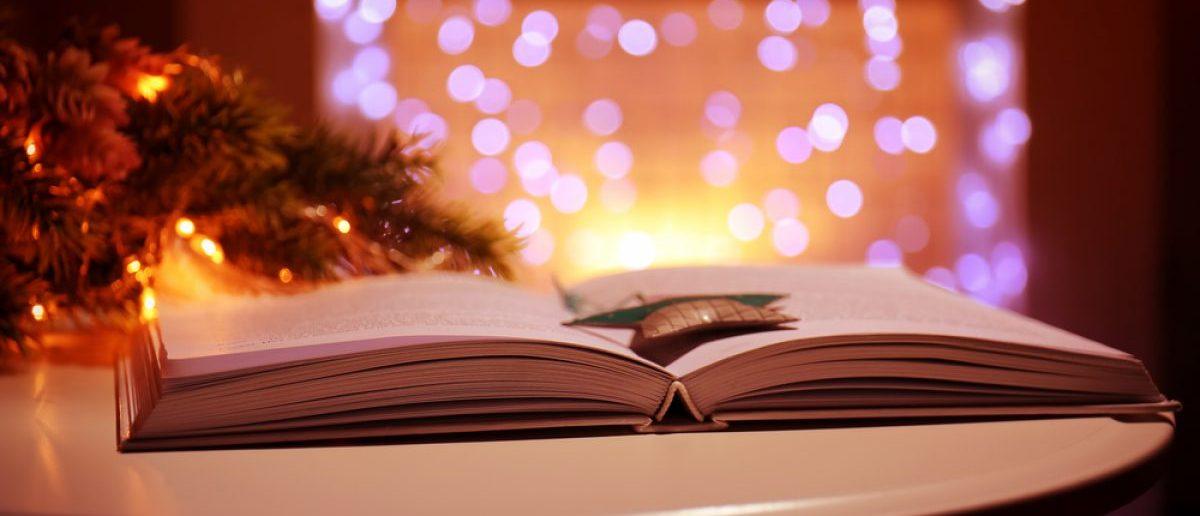 Books make for Christmas gifts (Photo via Shutterstock)