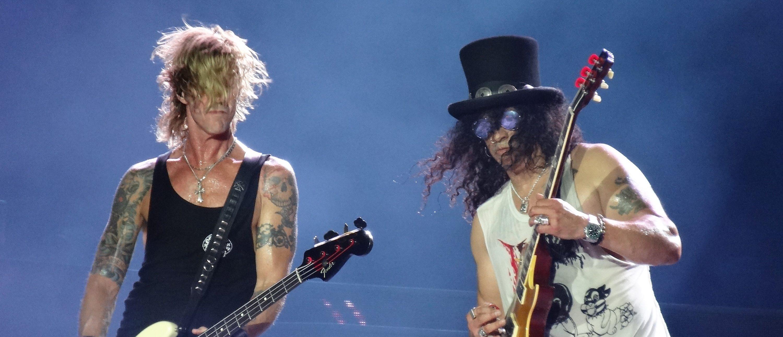 Guns 'n' Roses (Photo credit: Splash News)