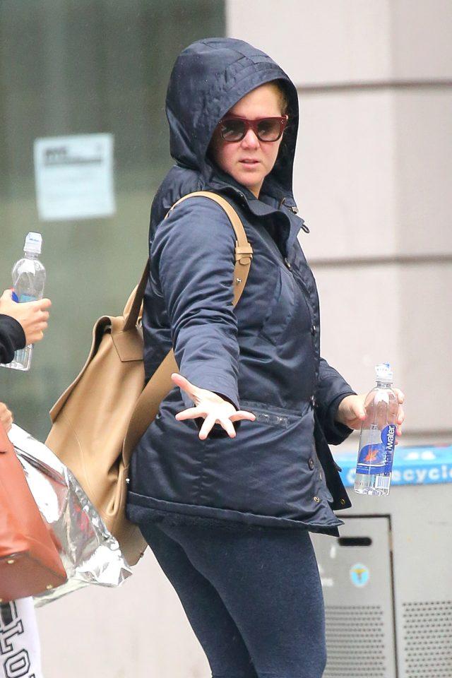 Schumer in New York. (Photo: Splash News)