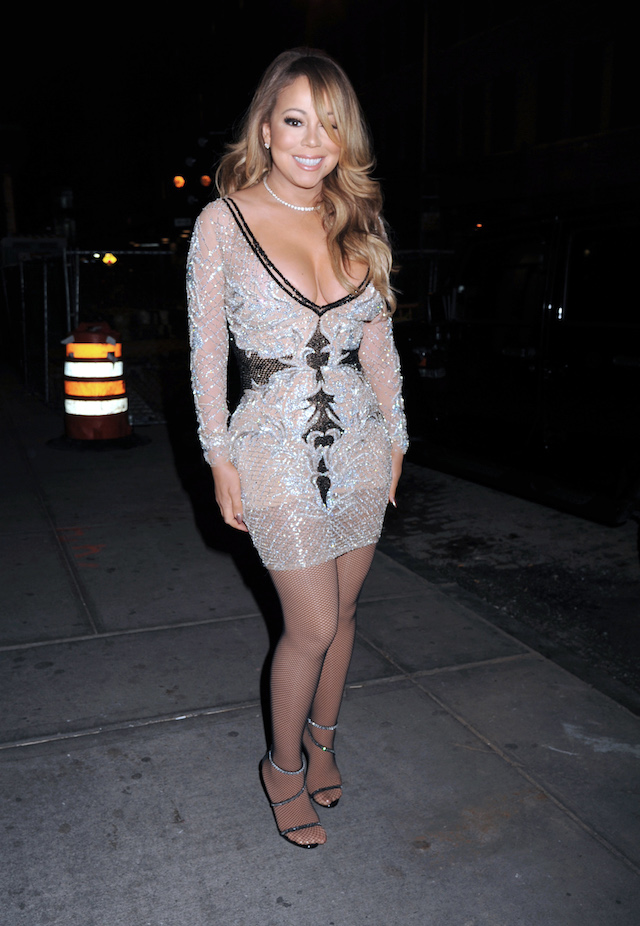 Mariah Carey arrives to Mariah's World on E! Launch Party. Held @ Catch, New York City, NY. <P> Pictured: Mariah Carey <B>Ref: SPL1404498 041216 </B><BR /> Picture by: Photo Image Press