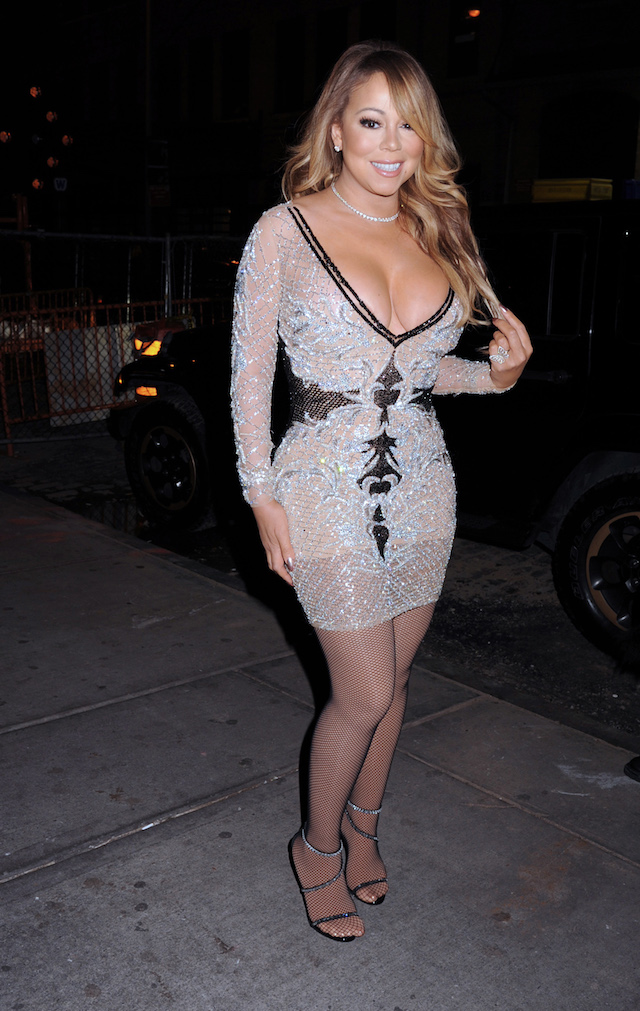 Mariah Carey arrives to Mariah's World on E! Launch Party. Held @ Catch, New York City, NY. <P> Pictured: Mariah Carey <B>Ref: SPL1404498 041216 </B><BR /> Picture by: Photo Image Press<