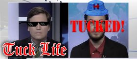 Tucker Carlson's New Show Is One Big 'Thug Life' Compilation [VIDEO]