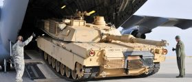 US Tanks Arrive To Take On Russia With Dead Batteries, No Gas