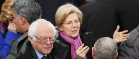 Sanders And Warren Irritated By Obama's Paid Speech To Wall St. Bank