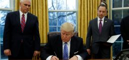 Trump Signs Executive Order Reinstating Ban On Funding And Promoting Abortions Overseas