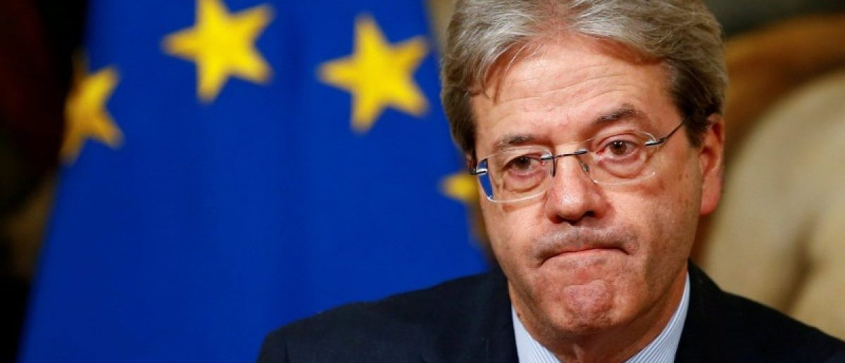 Italian Prime Minister Paolo Gentiloni attends a news conference at Chigi Palace in Rome, Italy, December 16, 2016.    REUTERS/Tony Gentile/File Photo