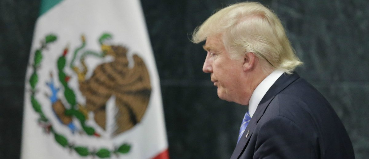 Donald Trump visited Mexico as the GOP nominee in August 2016: REUTERS/Henry Romero