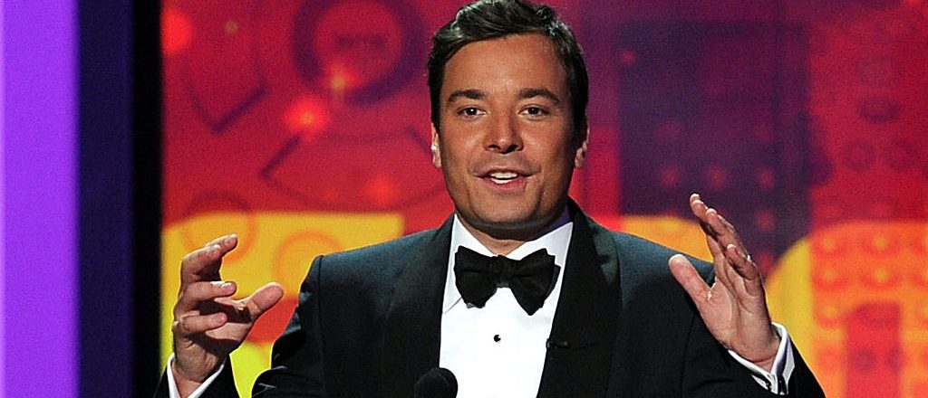 LOS ANGELES, CA - AUGUST 29: Host Jimmy Fallon speaks onstage at the 62nd Annual Primetime Emmy Awards held at the Nokia Theatre L.A. Live on August 29, 2010 in Los Angeles, California. (Photo by Kevin Winter/Getty Images)