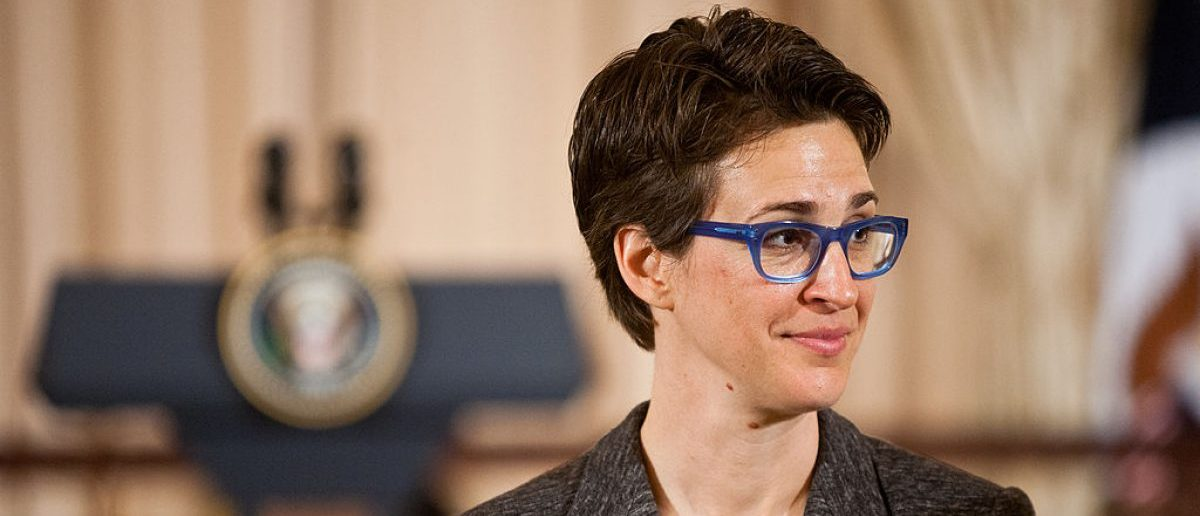 WASHINGTON, DC: Television host Rachel Maddow arrives for a lunch hosted in honor of Prime Minister David Cameron at the State Department on March 14, 2012 in Washington, DC. Cameron is on an official visit to Washington, where President Obama will host him at a State Dinner tonight.