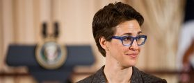The Tamest Part of Rachel Maddow's Interview With Howard Stern Is When The Shock Jock Calls Her A 'Queen'