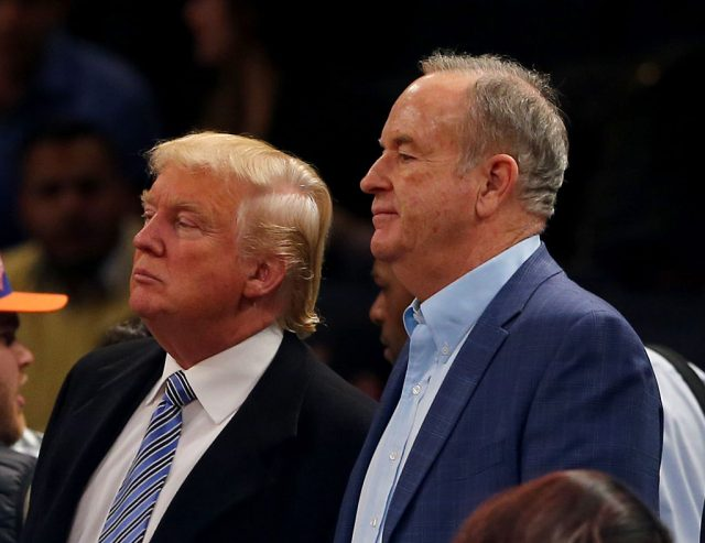 Bill O'Reilly to interview Trump during Super Bowl pregame coverage