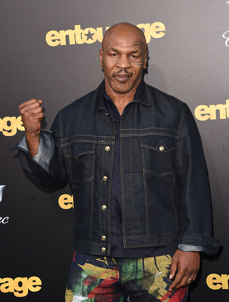 Mike Tyson (Photo credit: Getty Images)