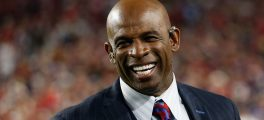 Football Star Deion Sanders Launches Initiative At Koch Conference