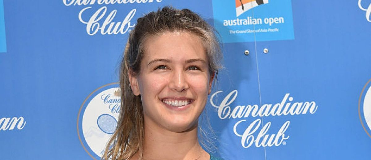 Eugenie Bouchard (Credit: Getty Images/Vince Caligiuri)