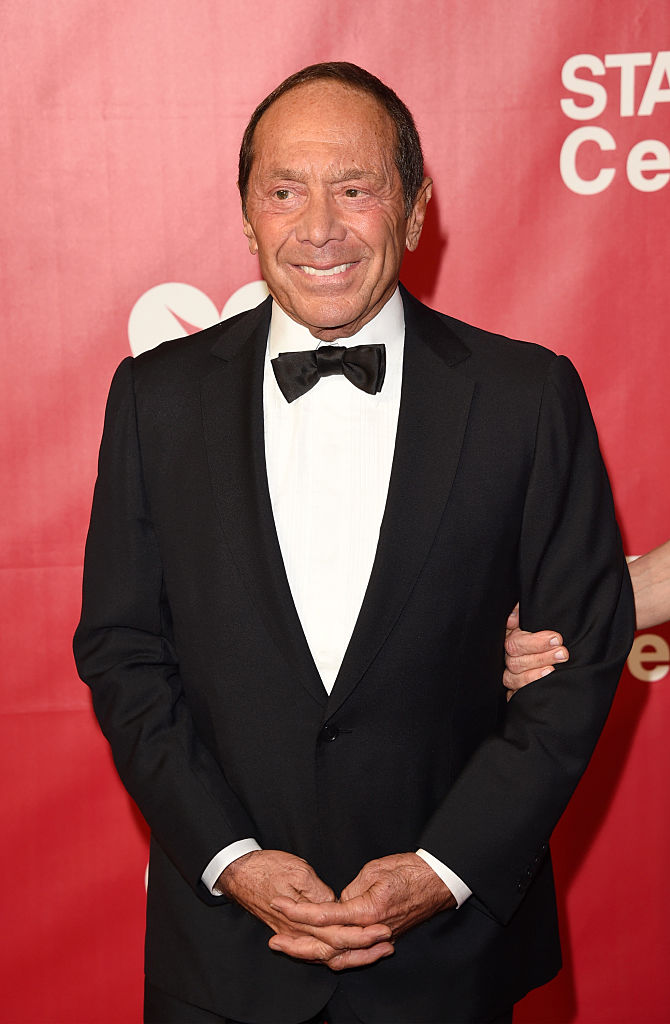 Singer Paul Anka (Photo by Jason Merritt/Getty Images)
