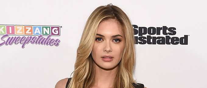 Sports Illustrated Swimsuit 2016 Model Search Contestant Megan Williams attends the Sports Illustrated & KIZZANG Bracket Challenge Party at Slate on March 14, 2016 in New York City. (Photo by Dave Kotinsky/Getty Images for Sports Illustrated)