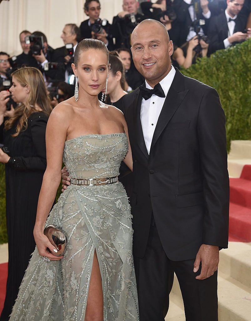Derek and Hannah Jeter (Photo credit: Getty Images)