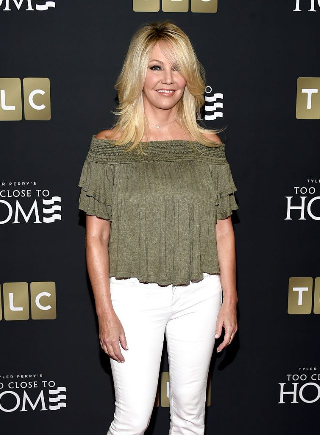 """Locklear at the premiere of """"Too Close To Home"""" in August 2016. (Photo: Getty Images)"""