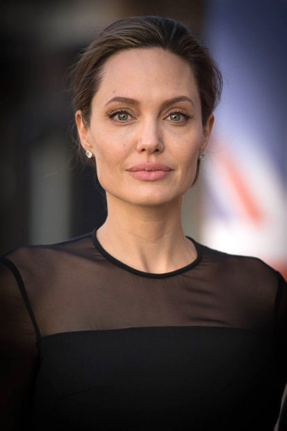 UN Special Envoy, Angelina Jolie arrives at the UN Peacekeeping Defence Ministerial at Lancaster House on September 8, 2016 in London, England. (Photo by Stefan Rousseau - WPA Pool/Getty Images)