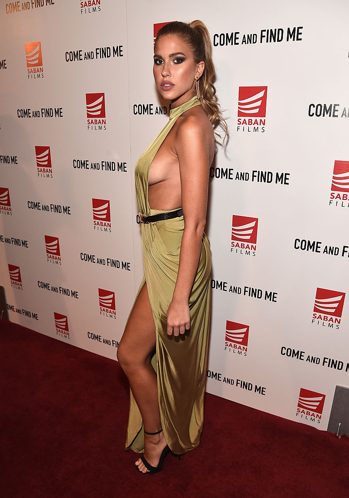 """Actress Kara Del Toro attends the premiere of Saban Films' """"Come And Find Me"""" at Pacific Theatre at The Grove on November 3, 2016 in Los Angeles, California. (Photo by Alberto E. Rodriguez/Getty Images)"""