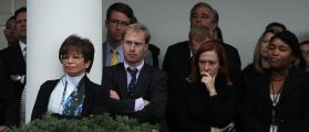 'Breathing Exercises' In The Rose Garden Got The White House Through Election Night