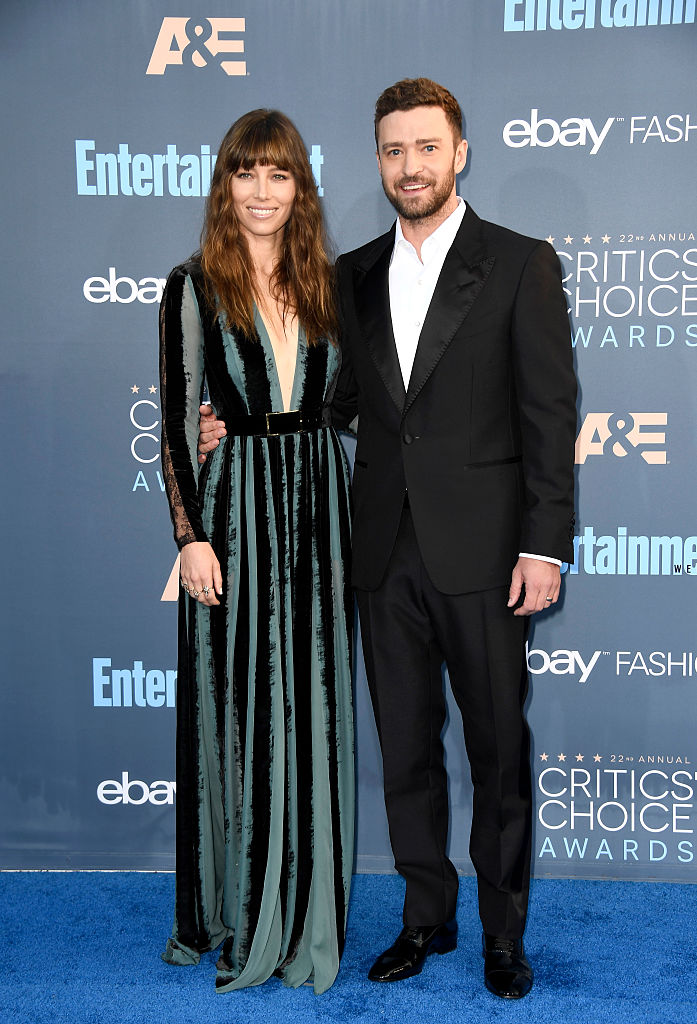 justin timberlake and jessica biel (Photo credit: Getty Images)