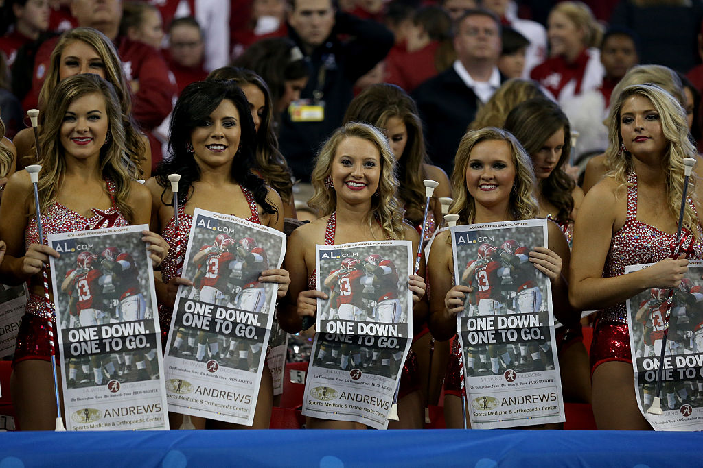 The Alabama Crimsonettes (Photo credit: Getty Images)