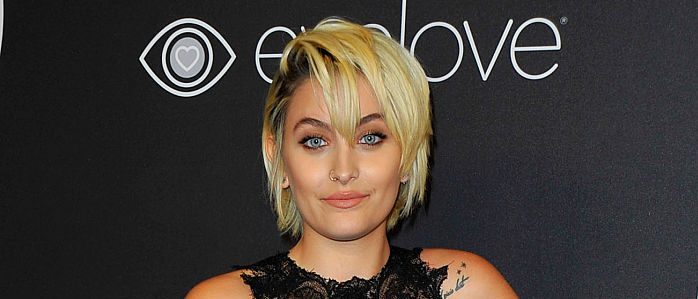 Paris Jackson attends the 18th Post-Golden Globes Party hosted by Warner Bros Pictures and InStyle at the Beverly Hilton Hotel on January 8, 2017 in Beverly Hills, California. / AFP / LILLY LAWRENCE (Photo credit should read LILLY LAWRENCE/AFP/Getty Images)