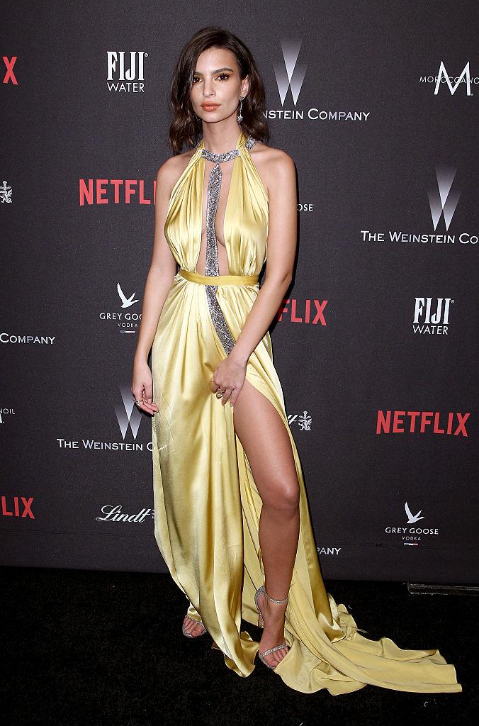 Emily Ratajkowski (Photo credit: Getty Images)